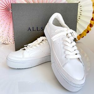 NWT AllSaints Trish Platform Sneakers 👟